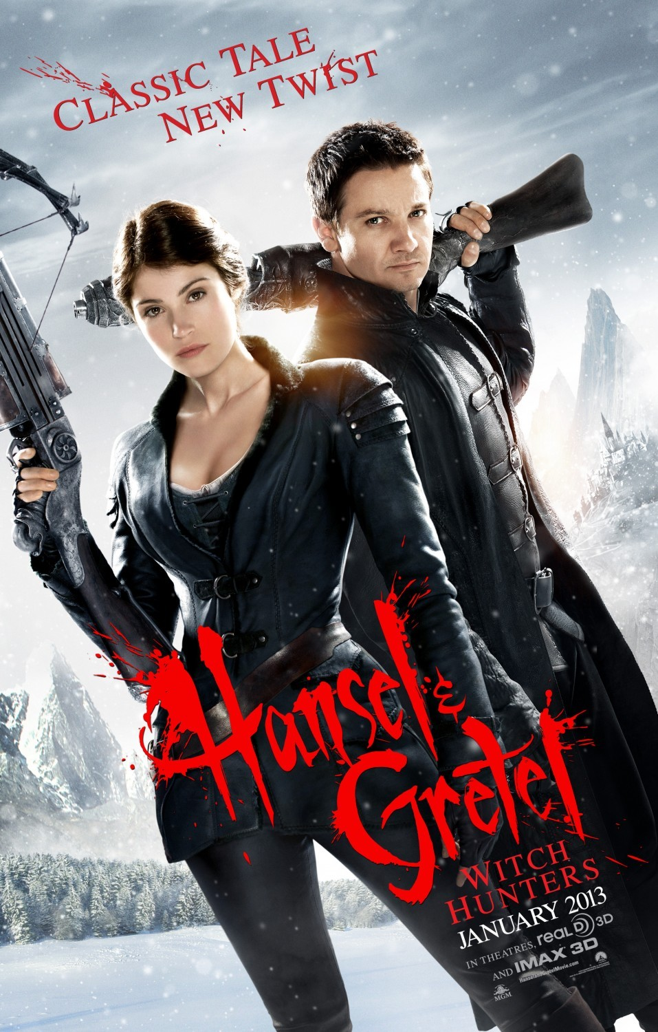 image Hansel & Gretel: Witch Hunters Watch Full Movie Free Online