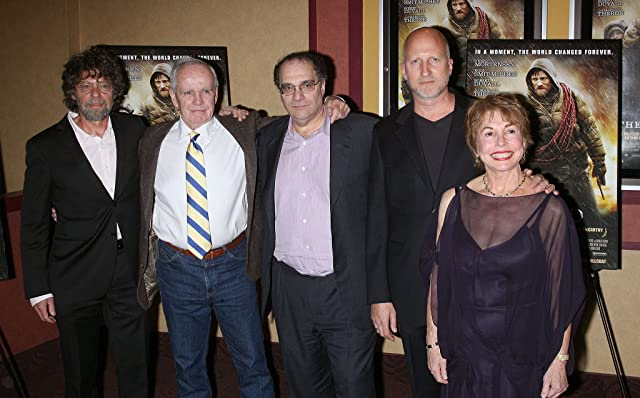 Producer Steve Schwartz, writer Cormac McCarthy, producer Bob Weinstein, director John Hillcoat and producer Paula Mae Schwartz attend the premiere of 'The Road' at Clearview Chelsea Cinemas on November 16, 2009 in New York City.