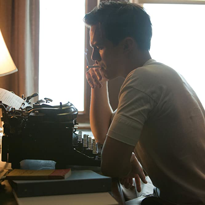 Nicholas Hoult in Rebel in the Rye (2017)