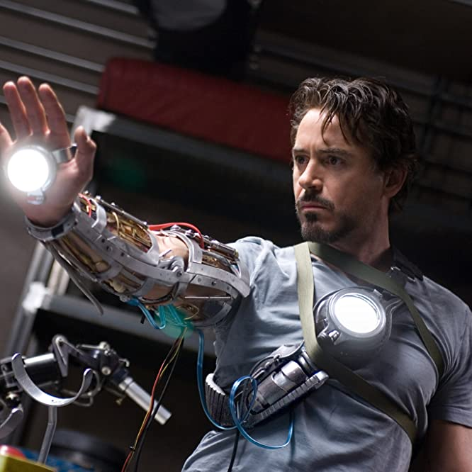 Robert Downey Jr. in Iron Man (2008)