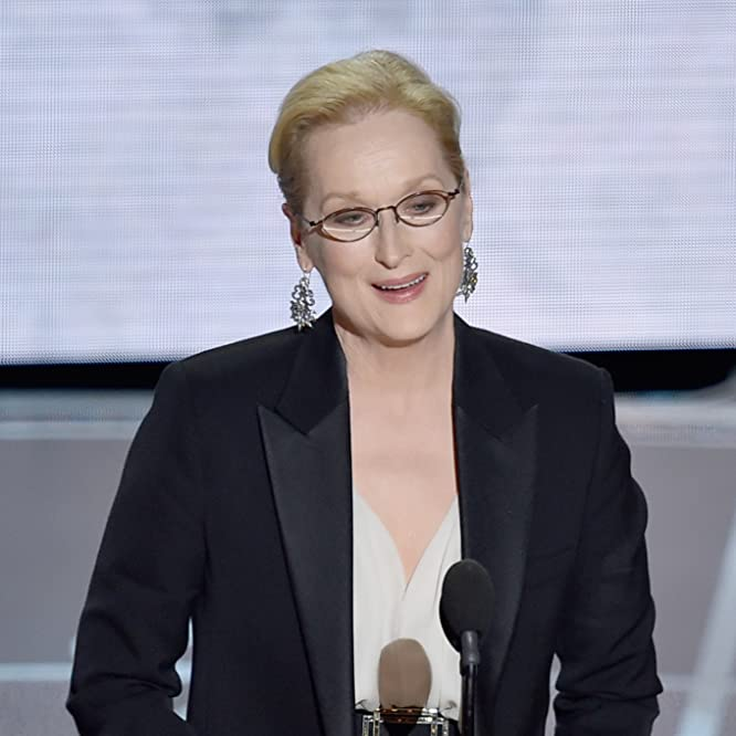 Meryl Streep at an event for The 87th Annual Academy Awards (2015)