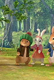 The Tale of the Hero Rabbit/The Tale of the Falling Rock Poster