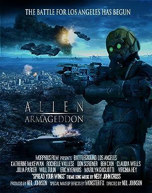Alien Armageddon poster