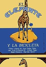 El elefante y la bicicleta Poster