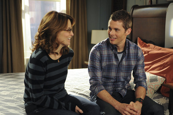 James Marsden and Tina Fey in 30 Rock (2006)