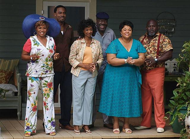 Margaret Avery, Frankie Faison, Jenifer Lewis, Tamela J. Mann, Lamman Rucker, and David Mann in Meet the Browns (2008)