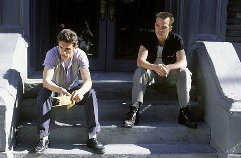 JAMES FRANCO (left) and STEPHEN DORFF star as Tino and Leon