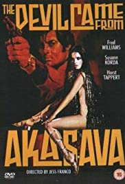 The Devil Came from Akasava Poster