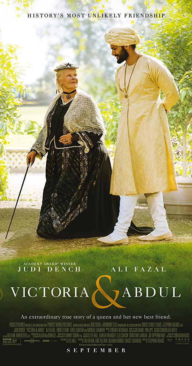 Image result for victoria and abdul film poster