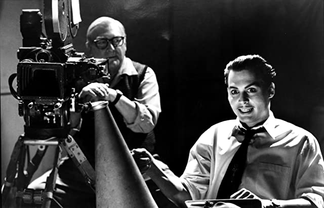 Johnny Depp and Brent Hinkley in Ed Wood (1994)