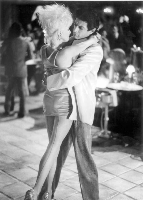 Jeff Goldblum and Cyndi Lauper in Vibes (1988)