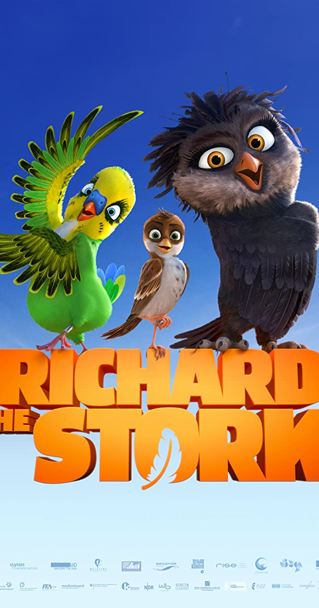 Ričis Didysis / Richard the Stork  (2017) Online