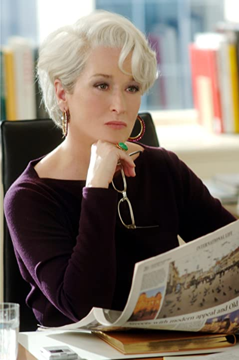 Meryl Streep in The Devil Wears Prada (2006)