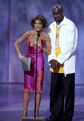 Lara Flynn Boyle and Gary Payton at ESPY Awards (2003)