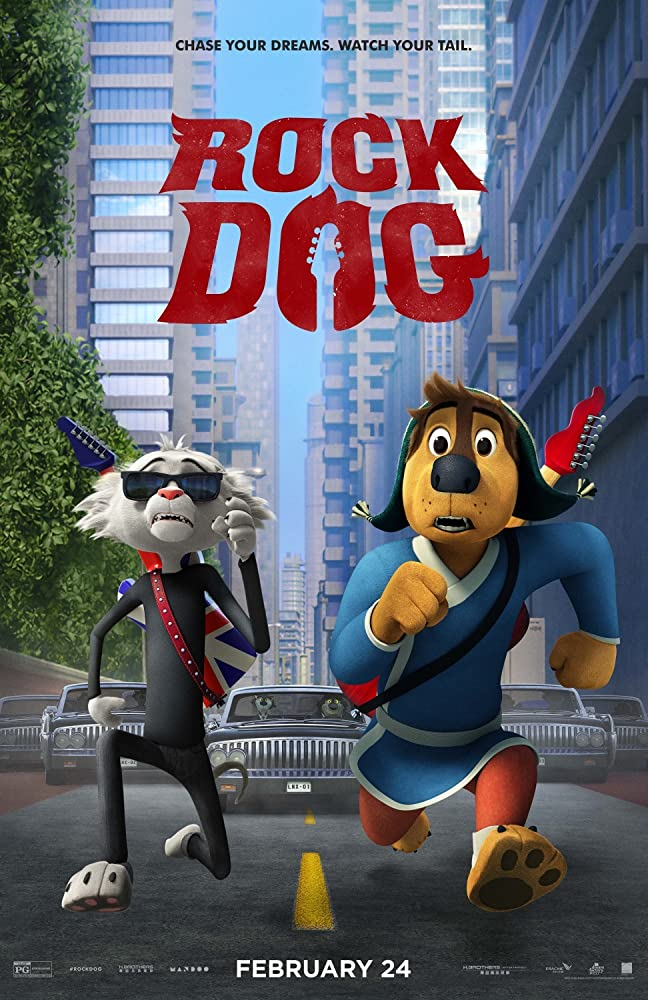 Rock Dog (2017) Subtitle Indonesia