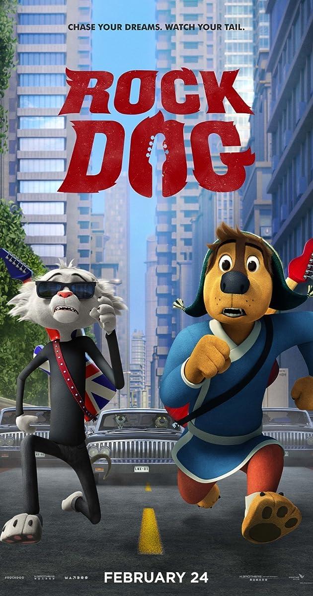 Svajoklis Budis / Rock Dog (2016)