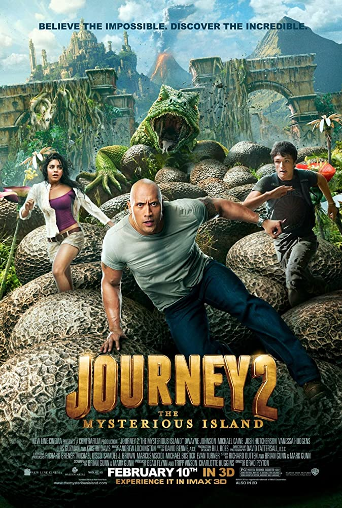 Journey 2: The Mysterious Island 2012 720p BluRay x264 500MB