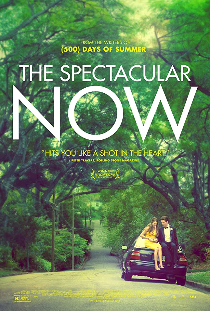 The Spectacular Now cartel de la película