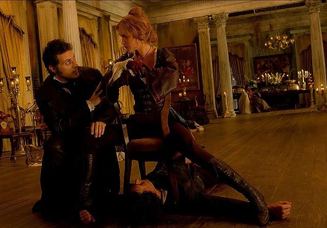 Rufus Sewell, Benjamin Walker, and Erin Wasson in Abraham Lincoln: Vampire Hunter (2012)