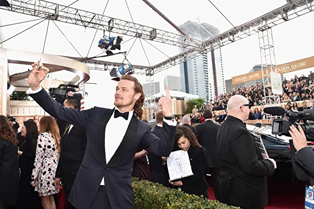 Sam Heughan at an event for 73rd Golden Globe Awards (2016)