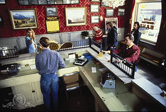 Chris Penn, Lori Singer, and Adrian Pasdar in Made in U.S.A. (1987)