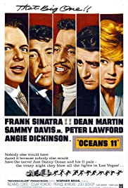 Ocean's 11 (1960) Poster - Movie Forum, Cast, Reviews