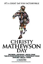 Christy Mathewson Day Poster