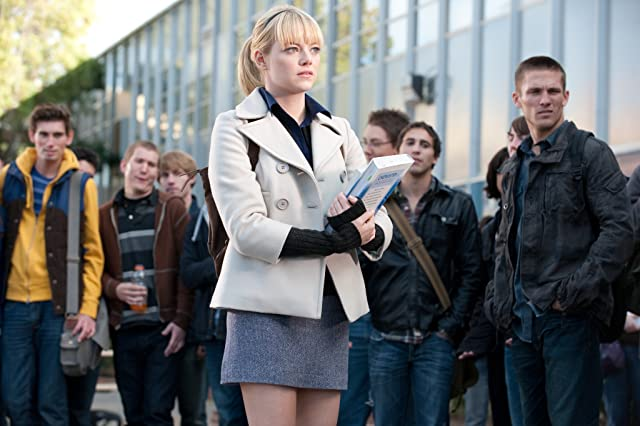 Emma Stone in The Amazing Spider-Man (2012)