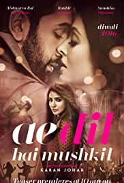 Ae Dil Hai Mushkil 2016 Hindi DVDRip 700MB AAC ESub MKV