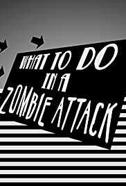 What to Do in a Zombie Attack Poster