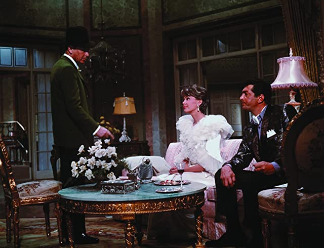 Frank Sinatra, Dean Martin, and Barbara Rush in Robin and the 7 Hoods (1964)