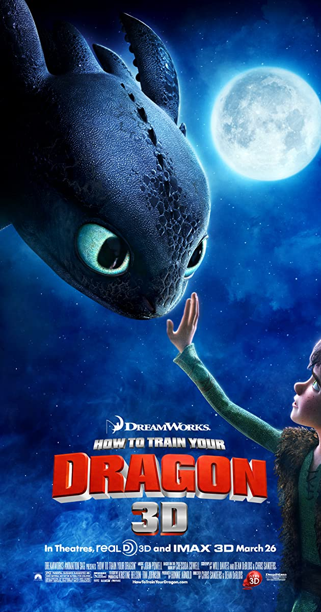 how to train your dragon 3d movie free