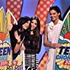 Kim Kardashian West, Kylie Jenner, and Kendall Jenner at an event for Teen Choice Awards 2014 (2014)