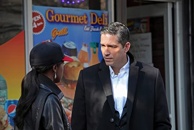 Jim Caviezel and Aja Naomi King in Person of Interest (2011)