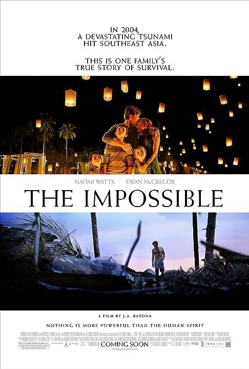 Ewan McGregor, Naomi Watts, Oaklee Pendergast, Tom Holland, and Samuel Joslin in The Impossible (2012)
