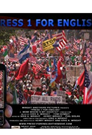 Press 1 for English Poster