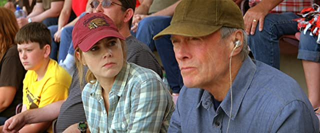 Clint Eastwood and Amy Adams in Trouble with the Curve (2012)