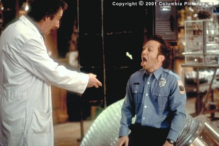 Rob Schneider and Michael Caton in The Animal (2001)