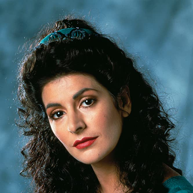 Marina Sirtis in Star Trek: The Next Generation (1987)