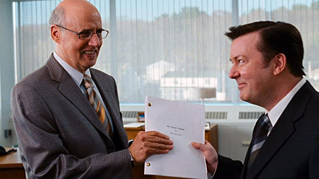 Jeffrey Tambor and Ricky Gervais in The Invention of Lying (2009)