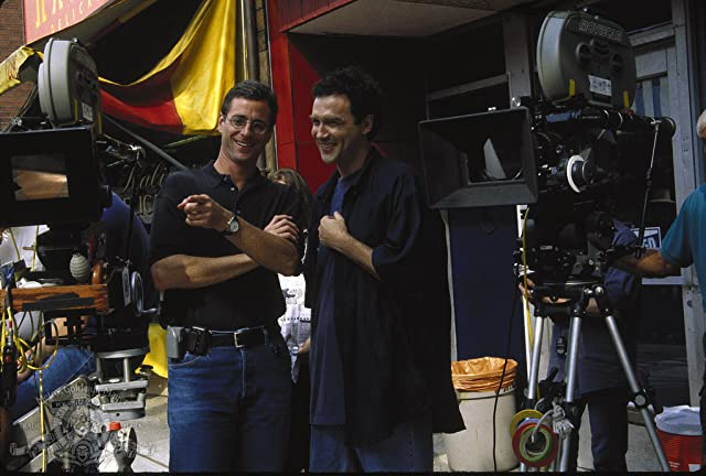 Norm MacDonald and Bob Saget in Dirty Work (1998)