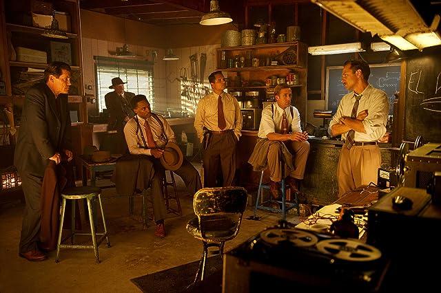 Giovanni Ribisi, Josh Brolin, Robert Patrick, Ryan Gosling, Michael Peña, and Anthony Mackie in Gangster Squad (2013)