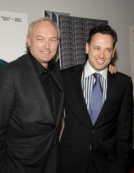 David O. Sacks and Christopher Buckley at an event for Thank You for Smoking (2005)