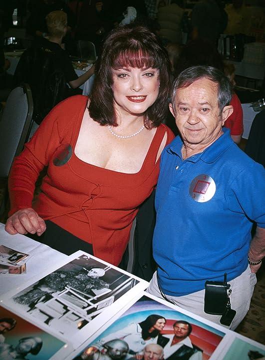 Lisa Loring and Felix Silla