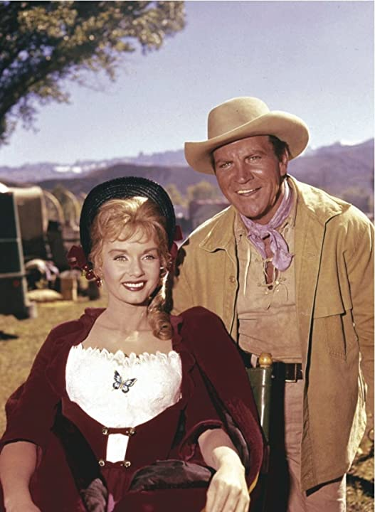 Debbie Reynolds and Robert Preston in How the West Was Won (1962)