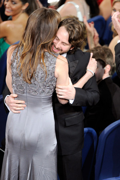 Kathryn Bigelow and Mark Boal at an event for The 82nd Annual Academy Awards (2010)