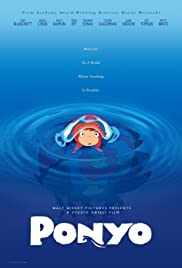 Ponyo (2008) Poster - Movie Forum, Cast, Reviews