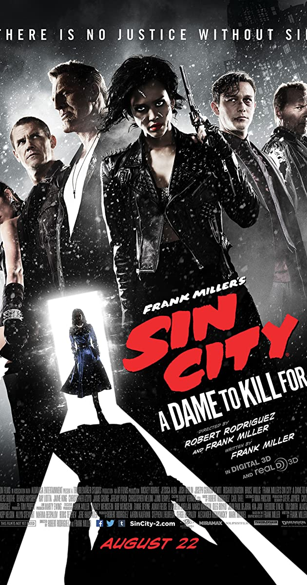 Sin City: A Dame to Kill For 2014 BRRip