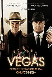 Vegas Poster - TV Show Forum, Cast, Reviews