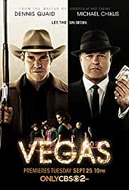Vegas tv poster